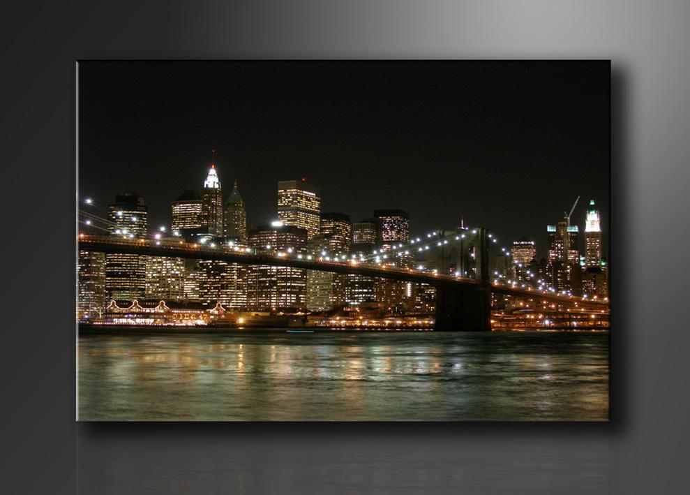 New York Leinwandbild ~ New york city