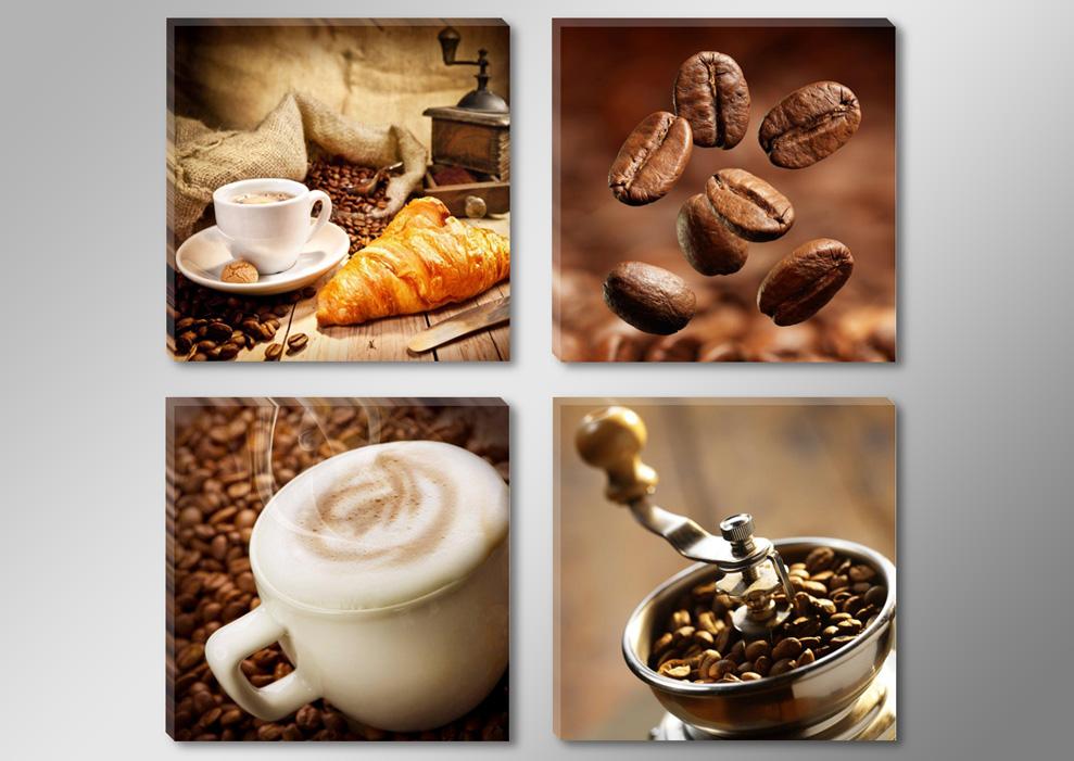 Kaffee Espresso Croissant