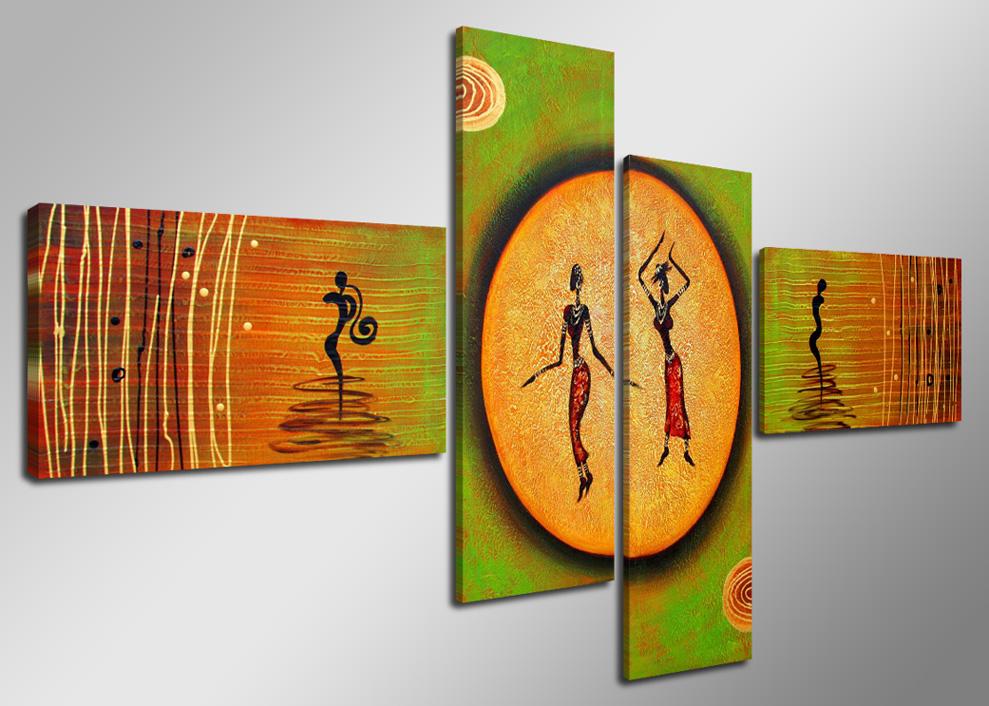 abstrakte figuren gr n orange. Black Bedroom Furniture Sets. Home Design Ideas