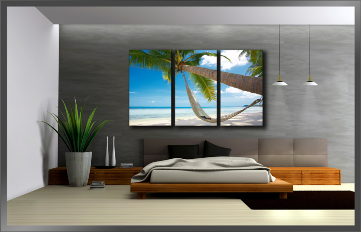tropischer strand. Black Bedroom Furniture Sets. Home Design Ideas