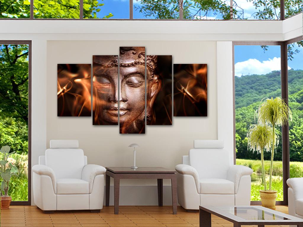 buddha bilder leinwand abstrakt best moderne buddha