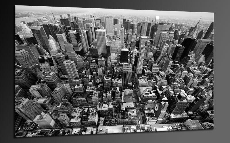 Graues New York Vogelperspektive