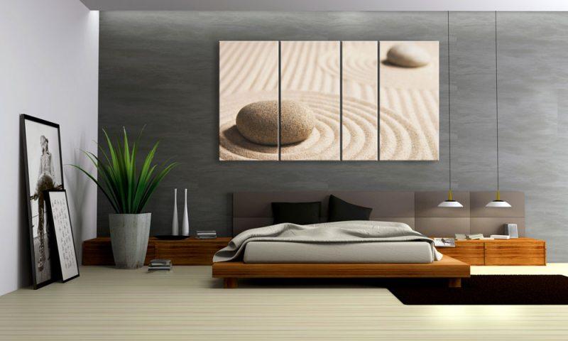 feng shui sand und steine. Black Bedroom Furniture Sets. Home Design Ideas