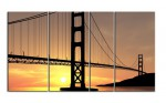 Golden Gate Bridge silhouette - 14500727