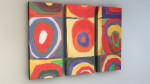 """Inspired by Kandinsky"" Quadrate Zoom 001"