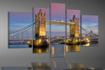 London Tower Bridge illuminé - 68140000