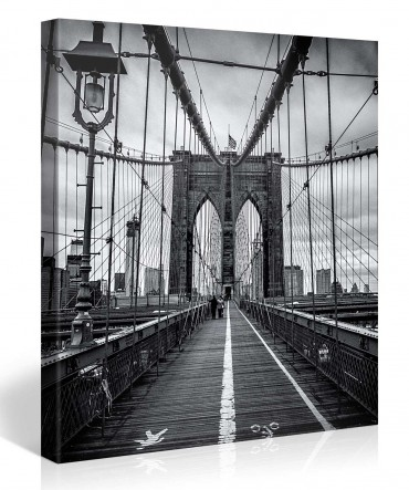 Brooklyn Bridge blanc noir – 1004259