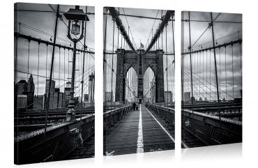 Brooklyn Brige blanc noir – 1004261