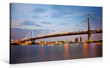 Ben Franklin Bridge en Philadelphia – 1004689