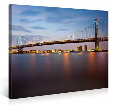 Ben Franklin Bridge in Philadelphia – 1004690