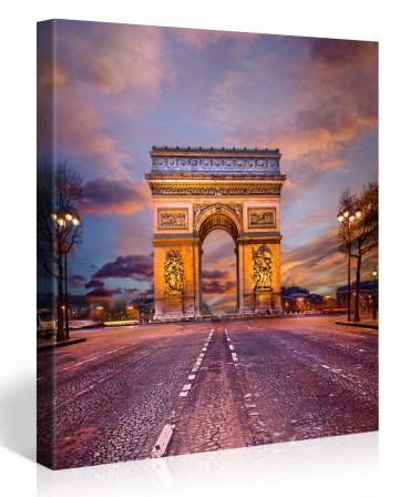 Arc de Triomphe en Paris – 1006428