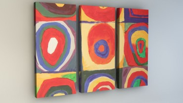 """Inspired by Kandinsky"" Quadrate Zoom"