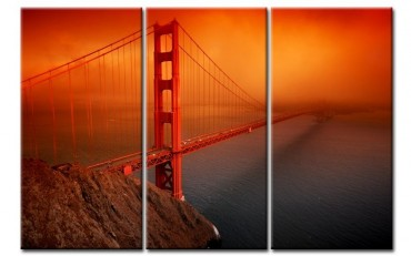 Golden Gate Bridge rouge 3000898 – Bild 1