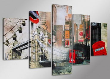 London City Collage – Bild 1