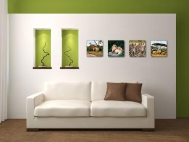 leinwandbilder tiere online bestellen bilder. Black Bedroom Furniture Sets. Home Design Ideas