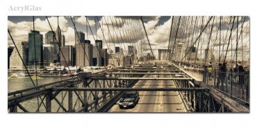 Big Apple Brooklyn Bridge – Bild 1