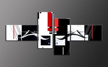 elemente schwarz weiss rot. Black Bedroom Furniture Sets. Home Design Ideas