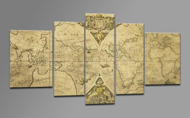 Mappemonde antique - 55502710 – Bild 1