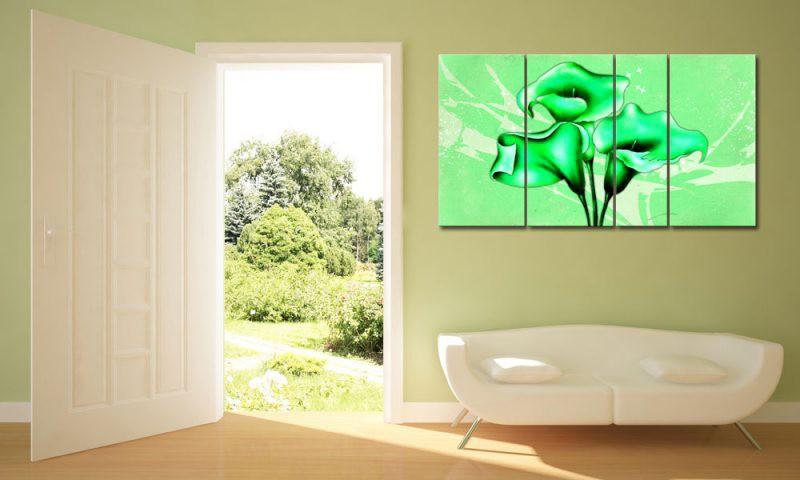 sch ne gr ne blume. Black Bedroom Furniture Sets. Home Design Ideas