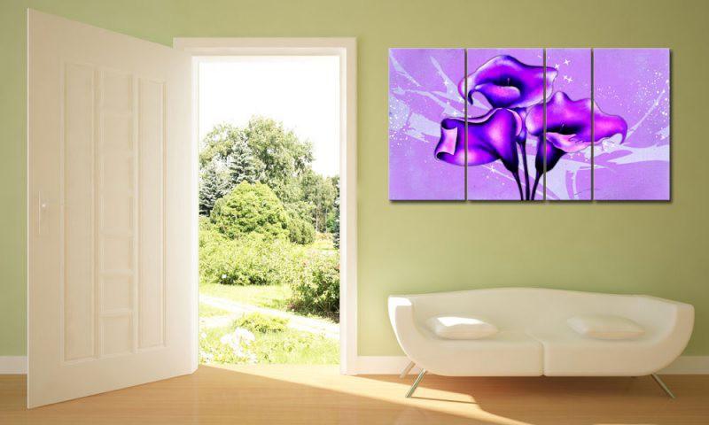sch ne lila blume. Black Bedroom Furniture Sets. Home Design Ideas