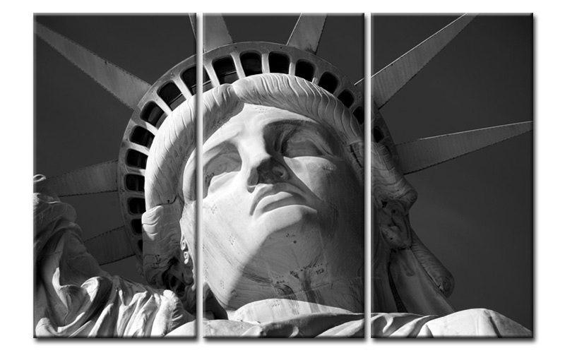 statue de la libert new york noir blanc 3000974. Black Bedroom Furniture Sets. Home Design Ideas