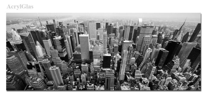 new york von oben schwarz weiss. Black Bedroom Furniture Sets. Home Design Ideas
