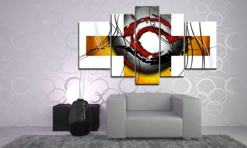 abstraktes motiv braun 55501507. Black Bedroom Furniture Sets. Home Design Ideas